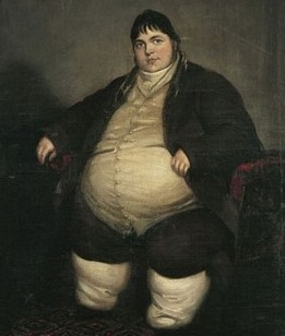 Daniel Lambert (1770-1809), oil on canvas, artist unknown