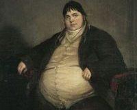 Daniel Lambert (1770-1809), oil on canvas, artist unknown
