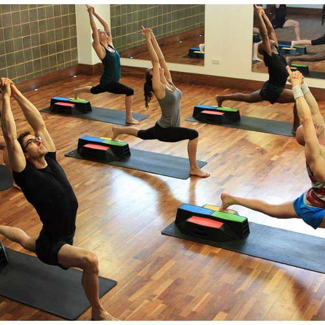 beamblock yoga blocks in gym not for sale