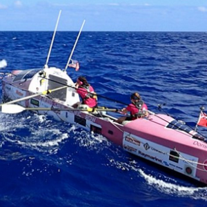 Coxless Crew on the Ocean
