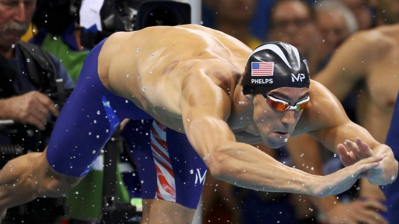 What kind of training do Olympic swimmers go through?