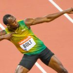 Usain Bolt at the Anniversary Games in London 2013