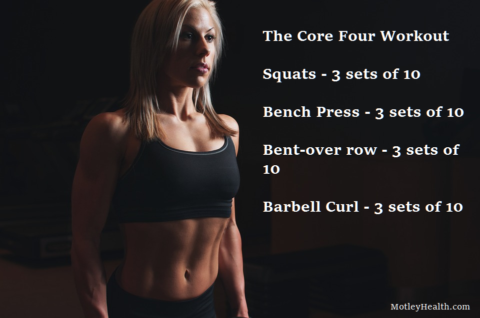MotleyHealth core four workout
