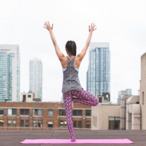 yoga on the rooftops