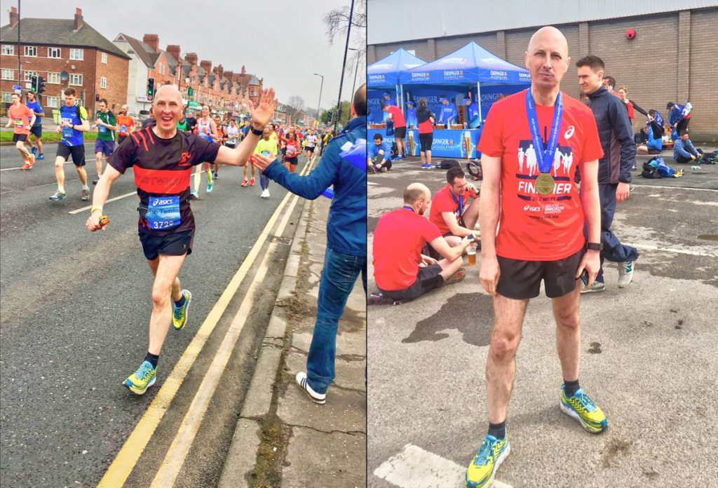 """I. Am. A. Marathon. Runner! From parkrun to my first marathon in 2 years and I managed it in under four hours! The hardiest thing I've ever done but with enough rest will absolutely do it again & again"""