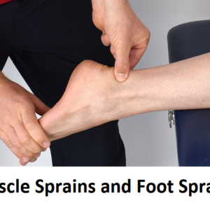Muscle Sprains and Foot Sprains