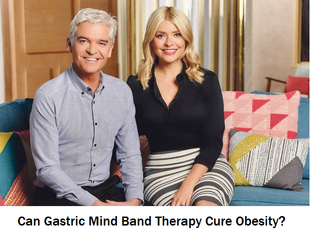 Holly Willoughby and Phillip Schofield talking about Gastric Mind Band