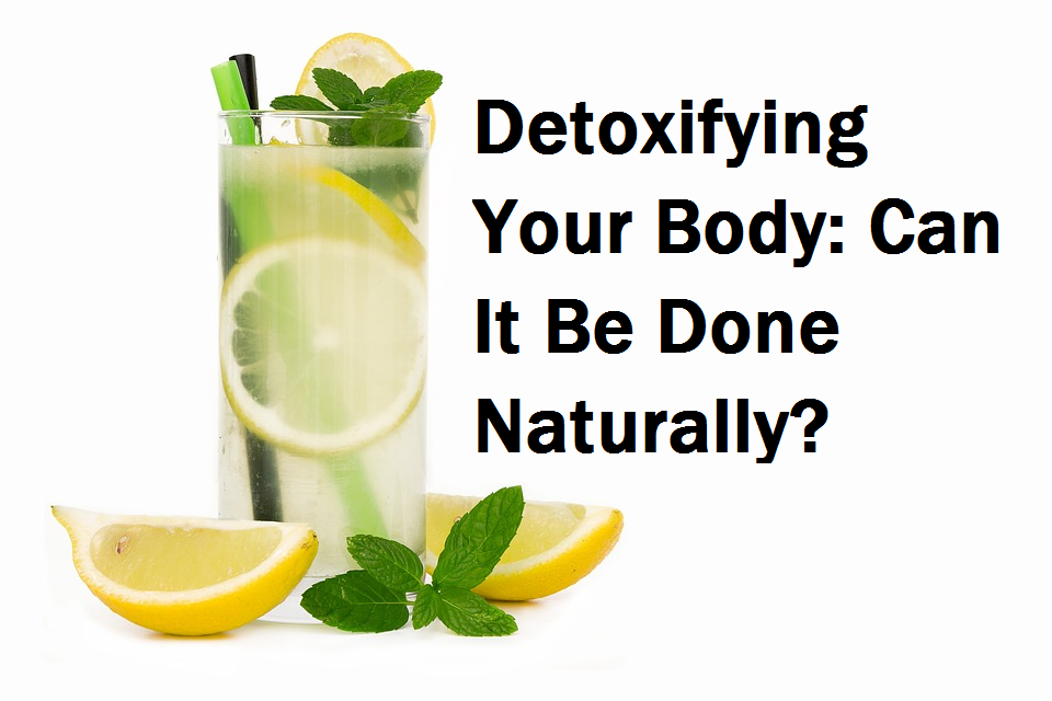 Detox naturally hot lemon drink
