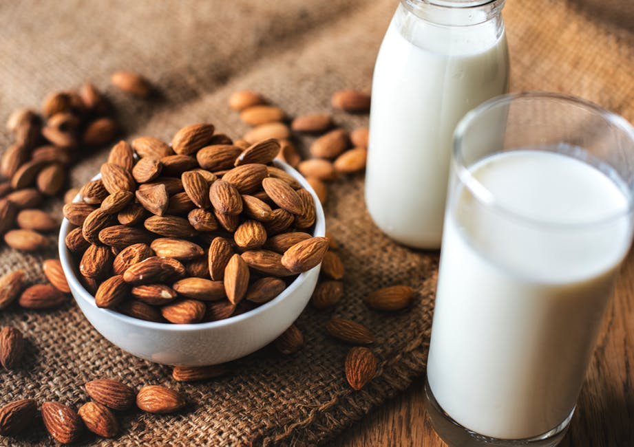 protein source milk and nuts