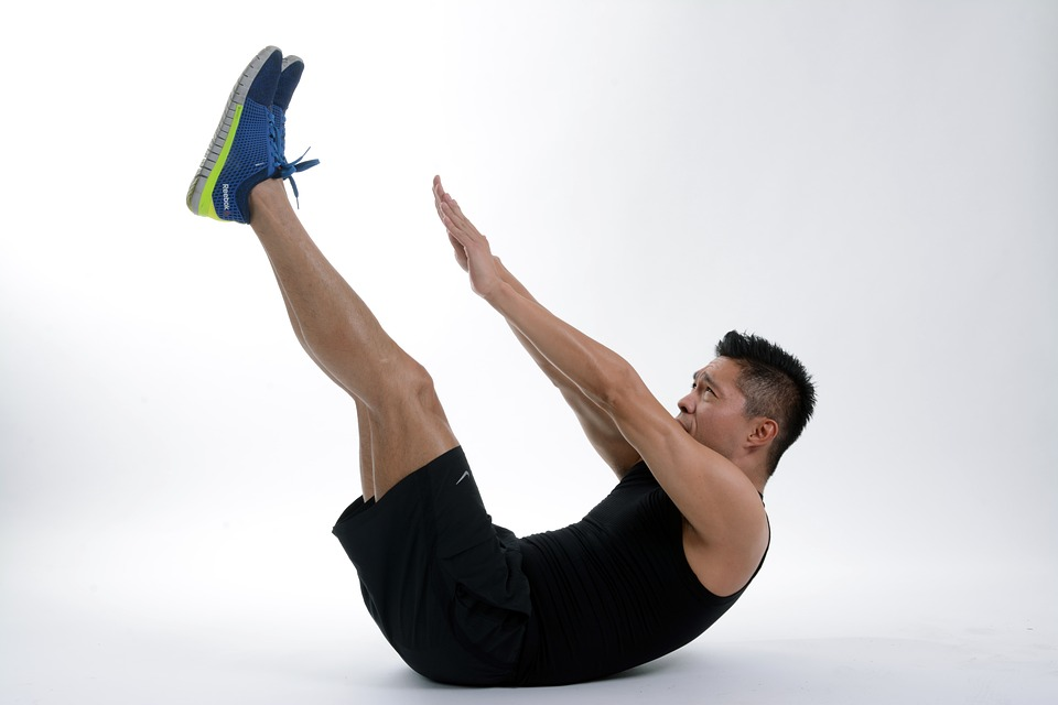belly roll exercise