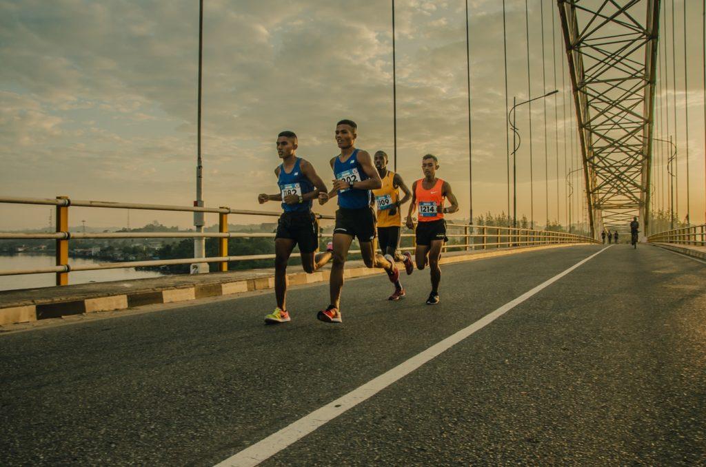 John Vinson marathon running