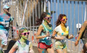 Color Run runners