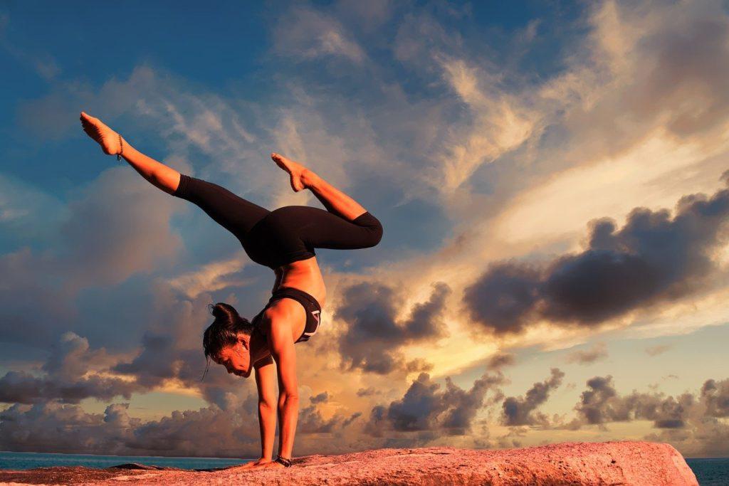 yoga by the coast