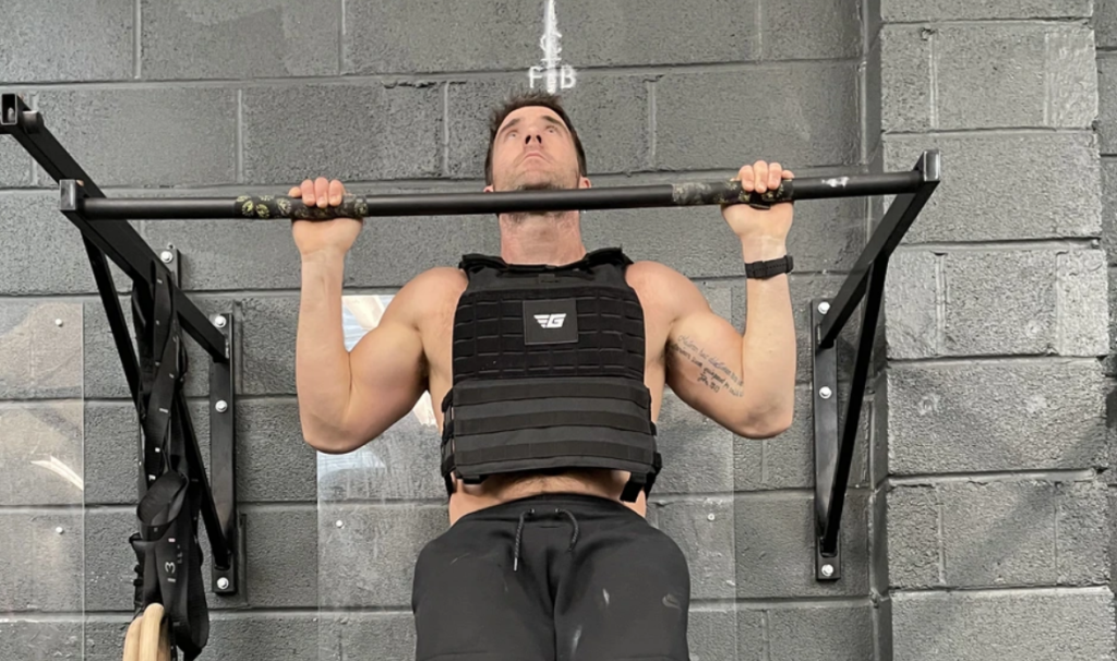 pull ups with weighted vest