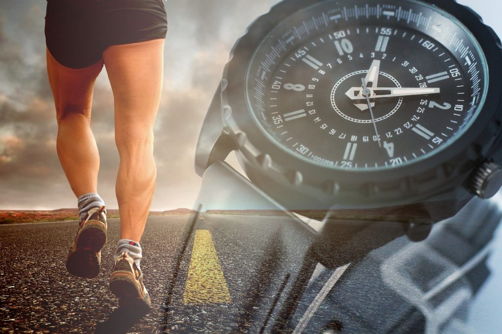 runner and time